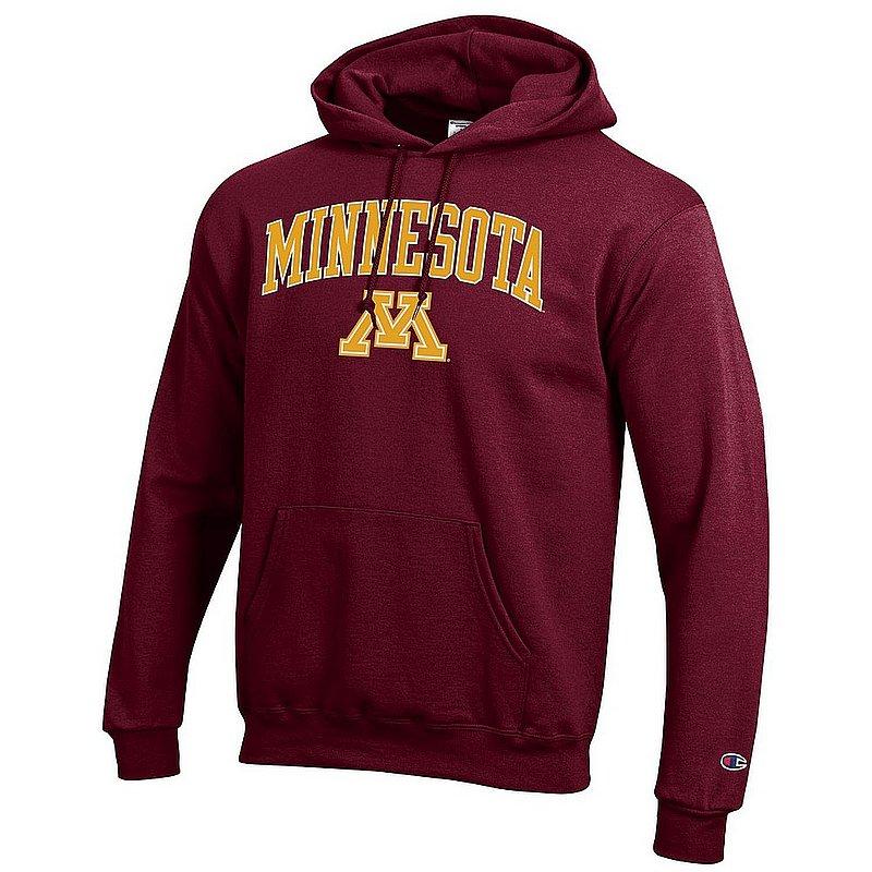 Minnesota Golden Gophers Hooded Sweatshirt Varsity Maroon APC02964284