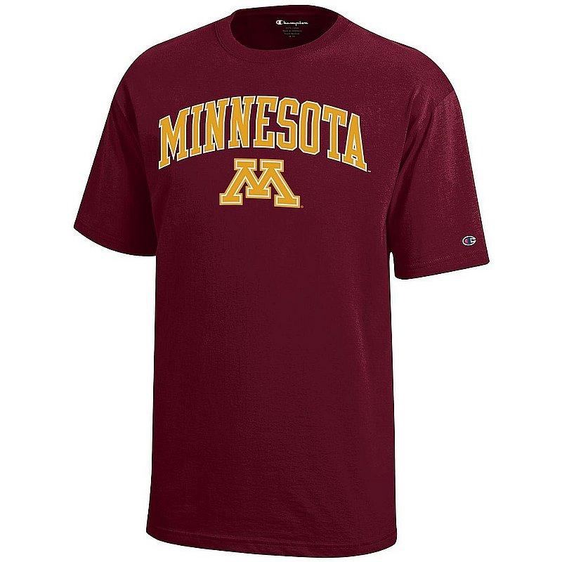 Minnesota Golden Gophers Kids TShirt Arch Maroon APC03020187