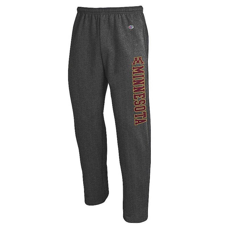 Minnesota Golden Gophers Sweatpants Pockets Charcoal APC02964451