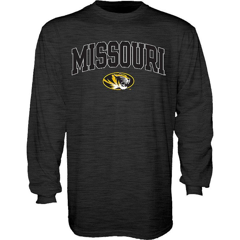 Missouri Tigers Long Sleeve Tshirt Varsity Charcoal APC02879952*