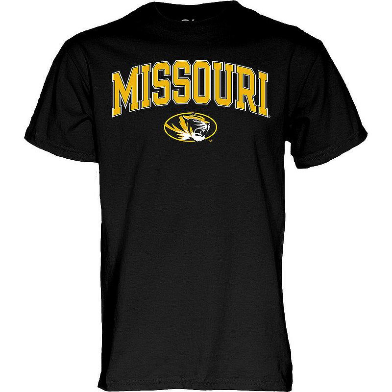 Missouri Tigers TShirt Varsity Black Arch Over APC03006941*
