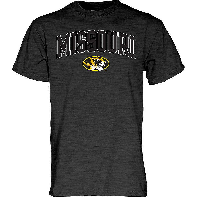 Missouri Tigers TShirt Varsity Charcoal Arch Over APC02879952*
