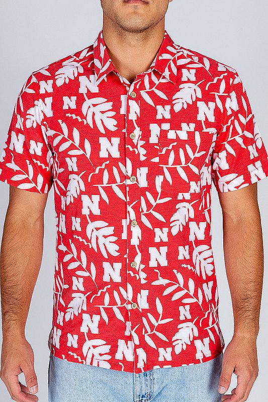 Nebraska Cornhuskers Hawaiian Shirt MPL-SRWQ119-LS1553