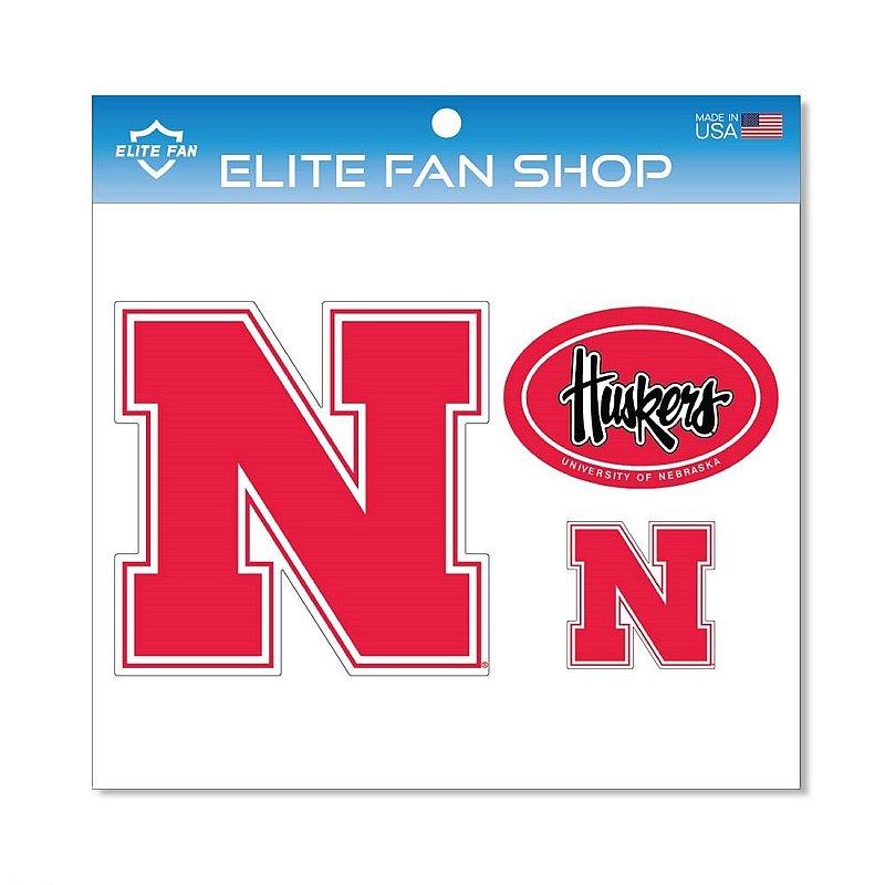 Nebraska Cornhuskers Magnet 3-Pack