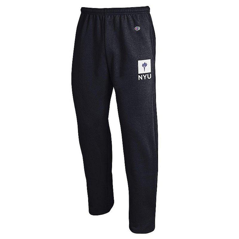 32b68e0abcd New York University Violets Sweatpants Pockets Black APC02964455