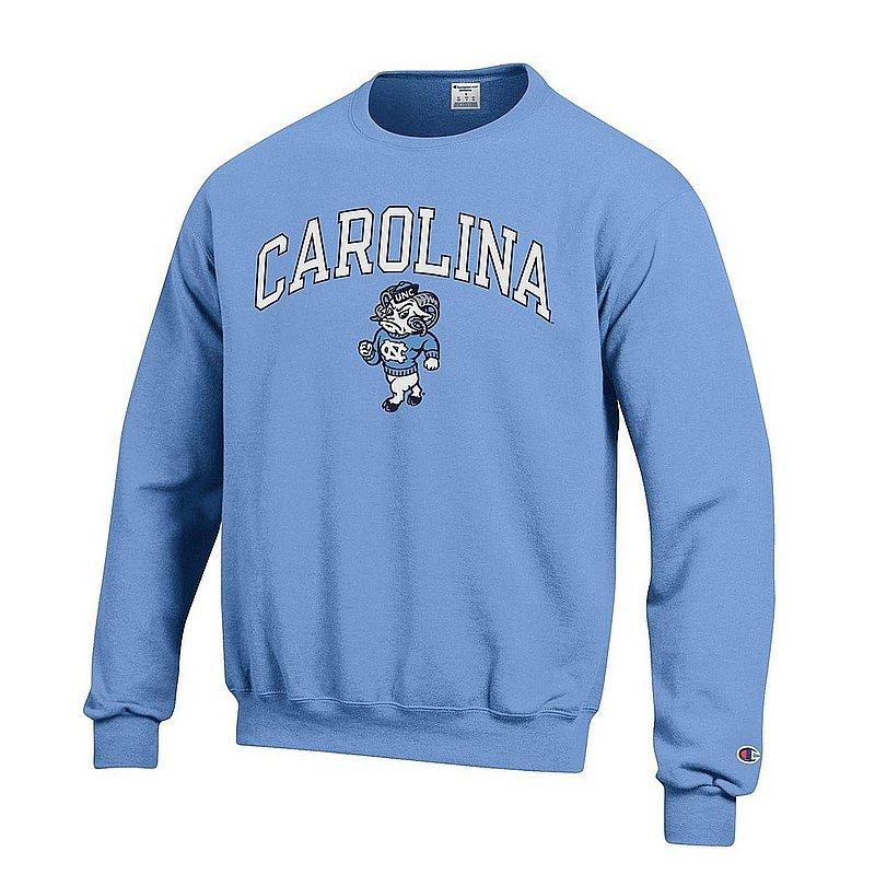 North Carolina Tar Heels Crewneck Sweatshirt Icon Blue