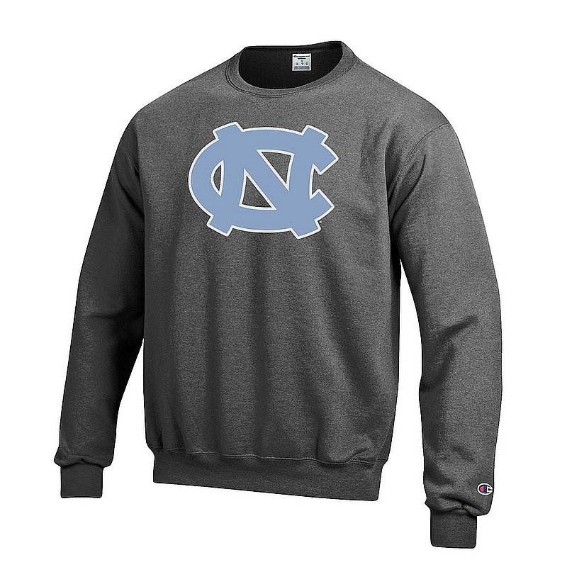 North Carolina Tar Heels Crewneck Sweatshirt Icon Charcoal APC03277034