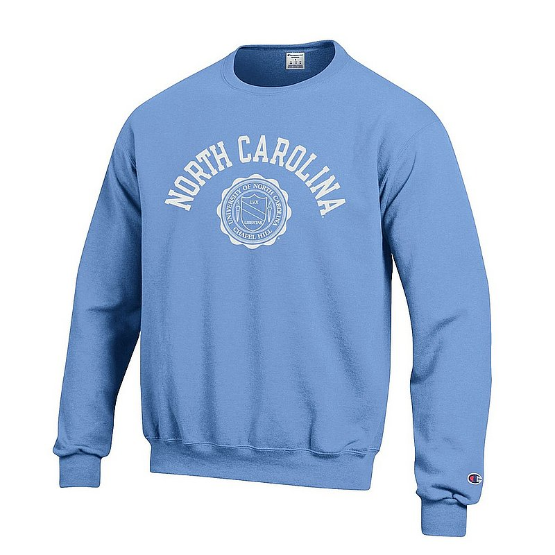 North Carolina Tar Heels Crewneck Sweatshirt Seal Blue APC02928123