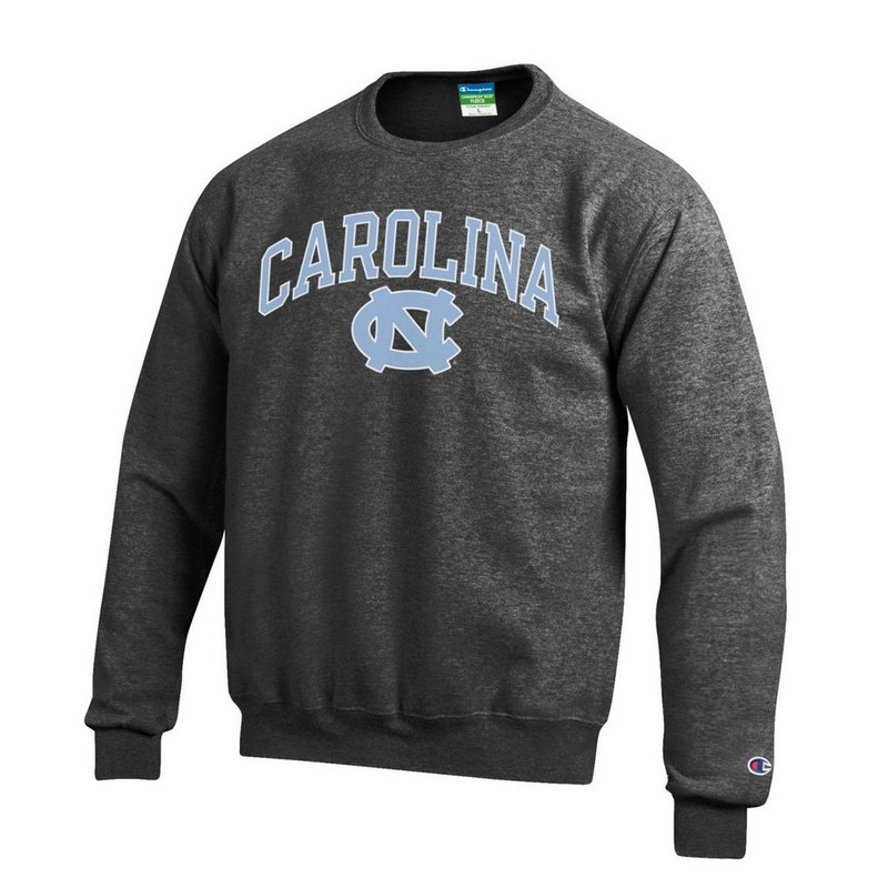 North Carolina Tar Heels Crewneck Sweatshirt Varsity Charcoal APC02879935