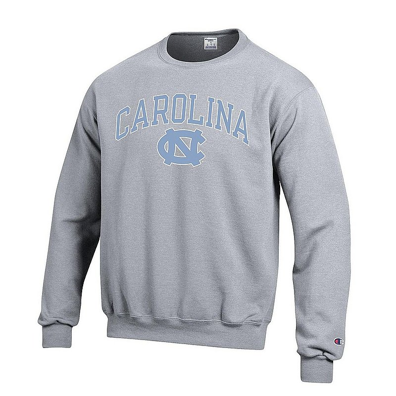 North Carolina Tar Heels Crewneck Sweatshirt Varsity Gray APC02879935
