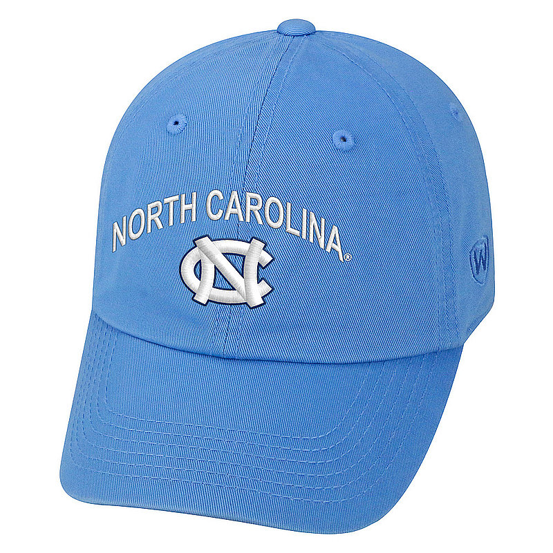 69abfae62 North Carolina Tar Heels Hat Arch Over Icon Blue CHAMP-NC-ADJ-TMC1