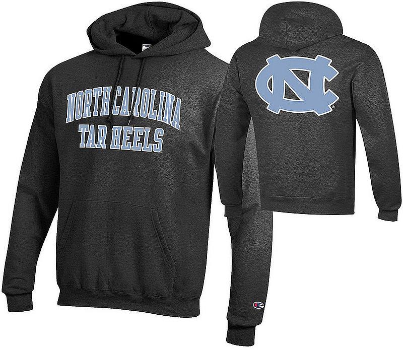 North Carolina Tar Heels Hooded Back Charcoal Sweatshirt APC03028062/APC03009999