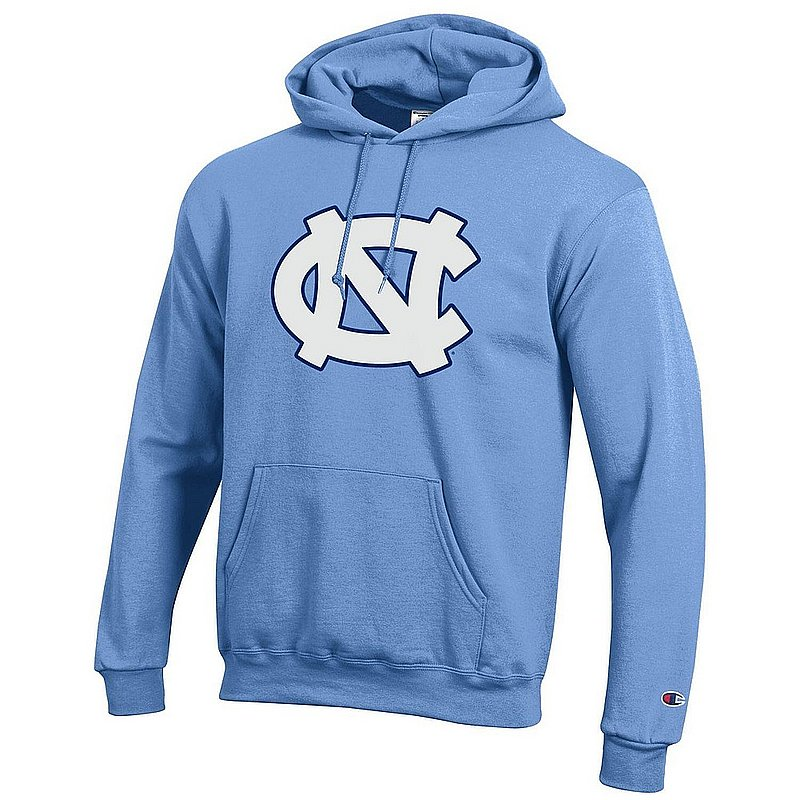North Carolina Tar Heels Hooded Sweatshirt Blue Icon NCAV28A - APC03408049