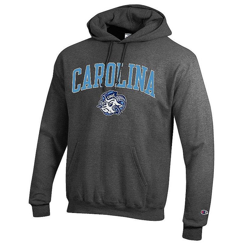 North Carolina Tar Heels Hooded Sweatshirt Charcoal NCAV1482B - apc03407993