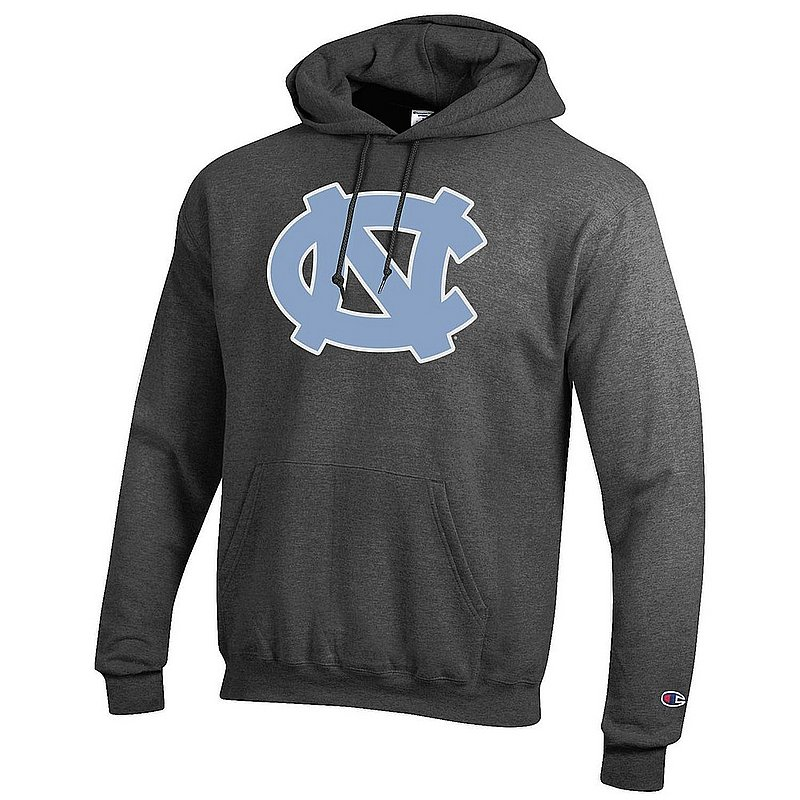 North Carolina Tar Heels Hooded Sweatshirt Icon Charcoal APC03277034