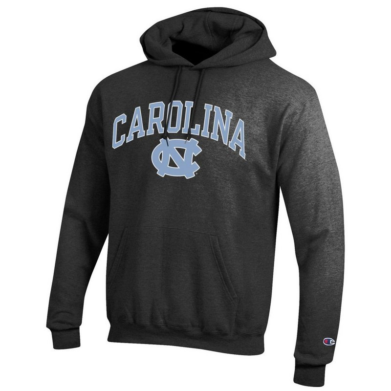 North Carolina Tar Heels Hooded Sweatshirt Varsity Charcoal APC02879935