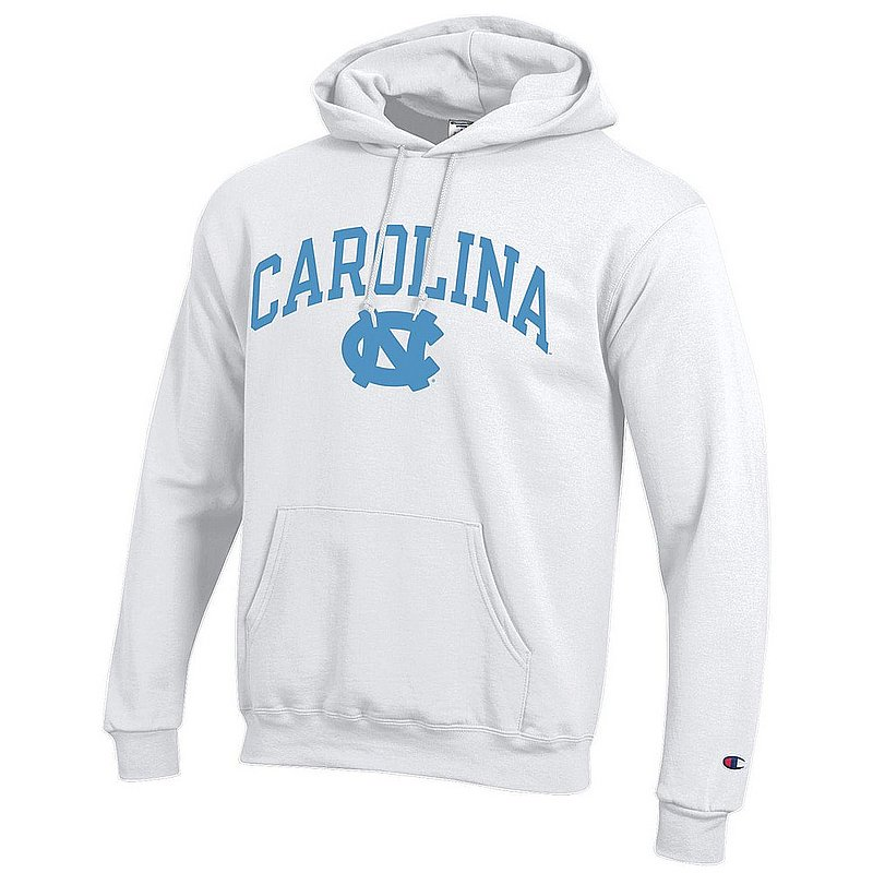 North Carolina Tar Heels Hooded Sweatshirt Varsity White APC03006352