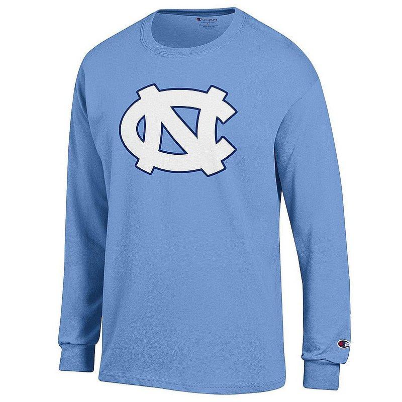 North Carolina Tar Heels Long Sleeve Tshirt Blue Icon NCAV28A - APC03408049