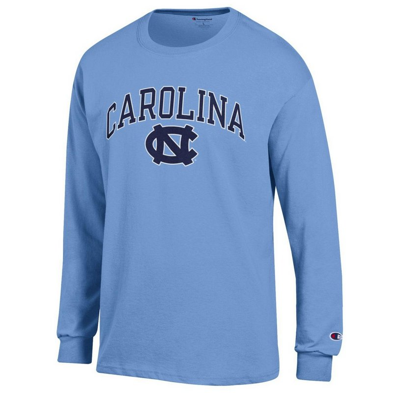 North Carolina Tar Heels Long Sleeve Tshirt Varsity Blue APC02879935