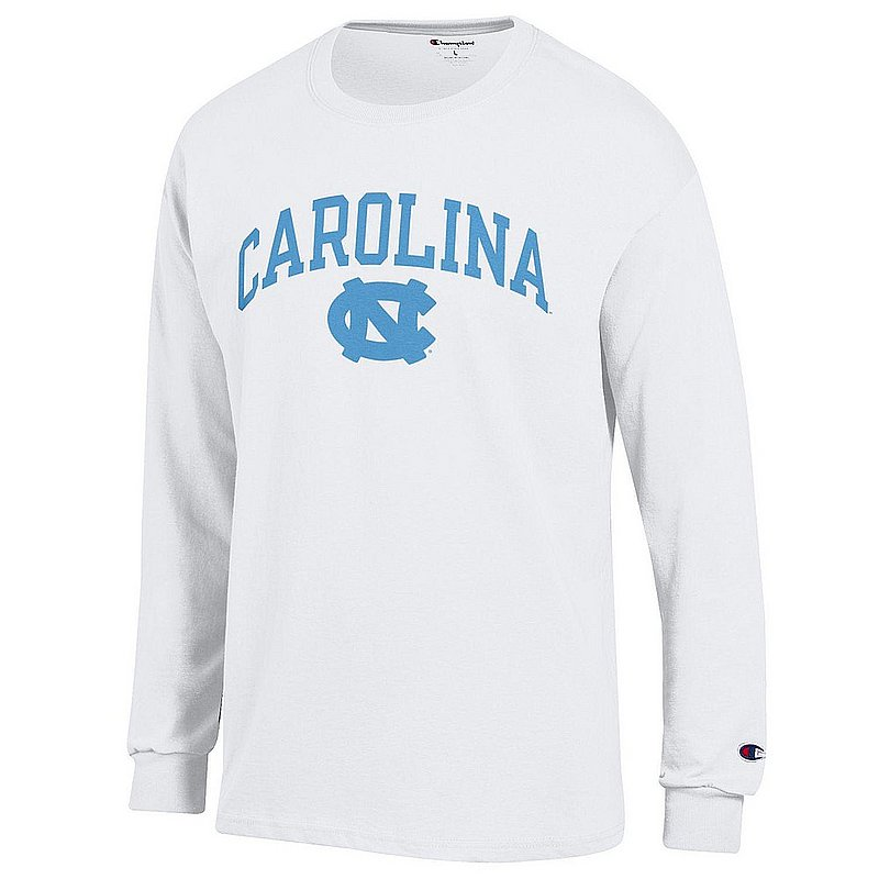 North Carolina Tar Heels Long Sleeve TShirt Varsity White APC03006352