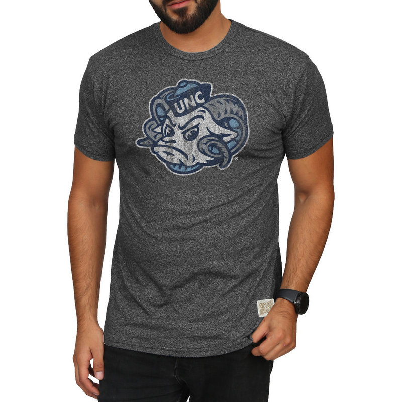 North Carolina Tar Heels Retro TShirt Charcoal NCA005S2A_MTCH