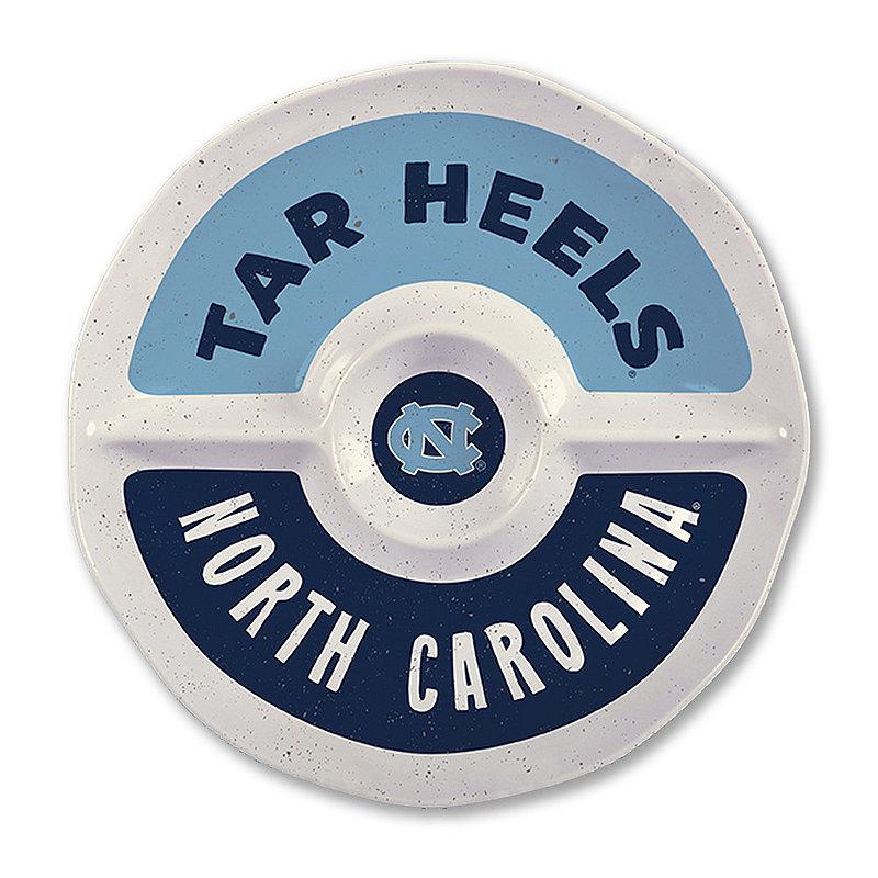 "North Carolina Tar Heels Round Serving Tray 15"" NC MEL ROUND SEC 15"