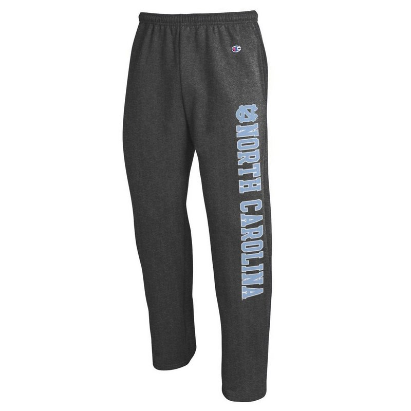 North Carolina Tar Heels Sweatpants Pockets Charcoal APC02886128