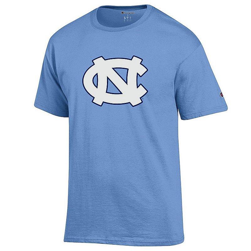 North Carolina Tar Heels Tshirt Blue Icon NCAV28A APC03408049