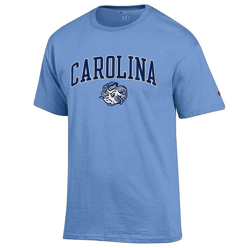 North Carolina Tar Heels Tshirt Blue Vintage NCAV1482A