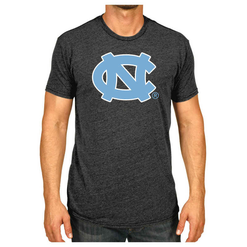 North Carolina Tar Heels Tshirt Charcoal Icon NCAV28B
