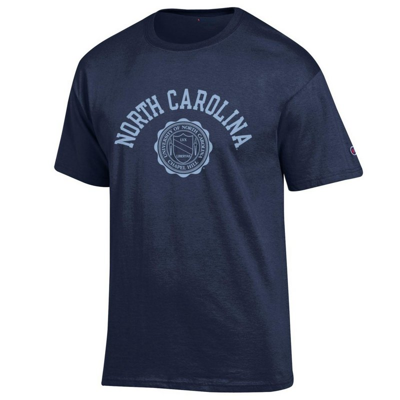 North Carolina Tar Heels TShirt Seal Navy APC02928123