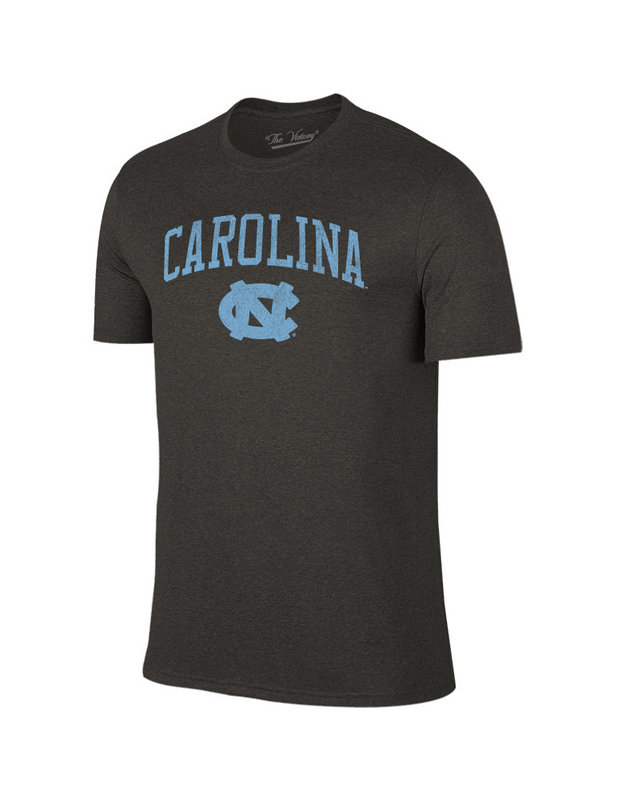 North Carolina Tar Heels Vintage Tshirt Charcoal Victory TV7051_NCAV1412B_HBK