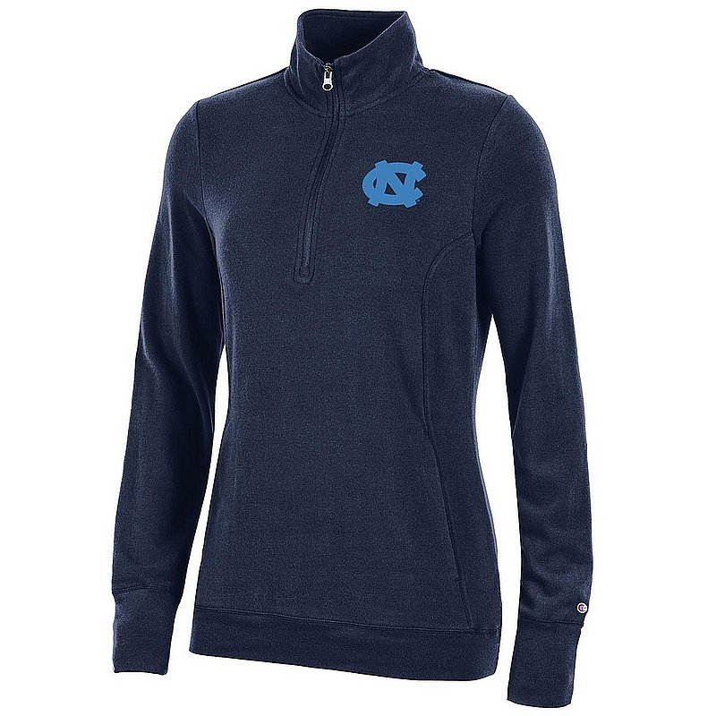 North Carolina Tar Heels Women's Quarter Zip Navy APC03320136