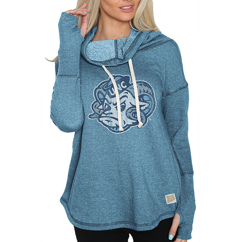 North Carolina Tar Heels Womens Funnel Neck Sweatshirt NCA005S2A_RB1920M_HCL