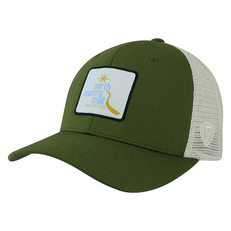 North Country National Trail Adjustable Olive Hat