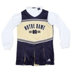 Notre Dame Cheerleading Uniform with Turtleneck