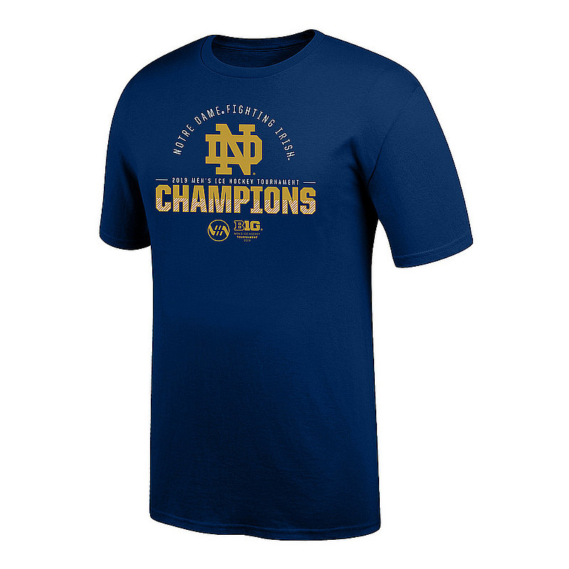 Notre Dame Fighting Irish Big Ten Hockey Champs Tshirt 2019