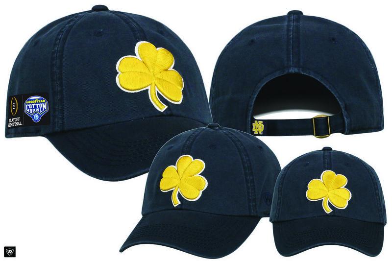 Notre Dame Fighting Irish Cotton Bowl Hat 2018 Navy