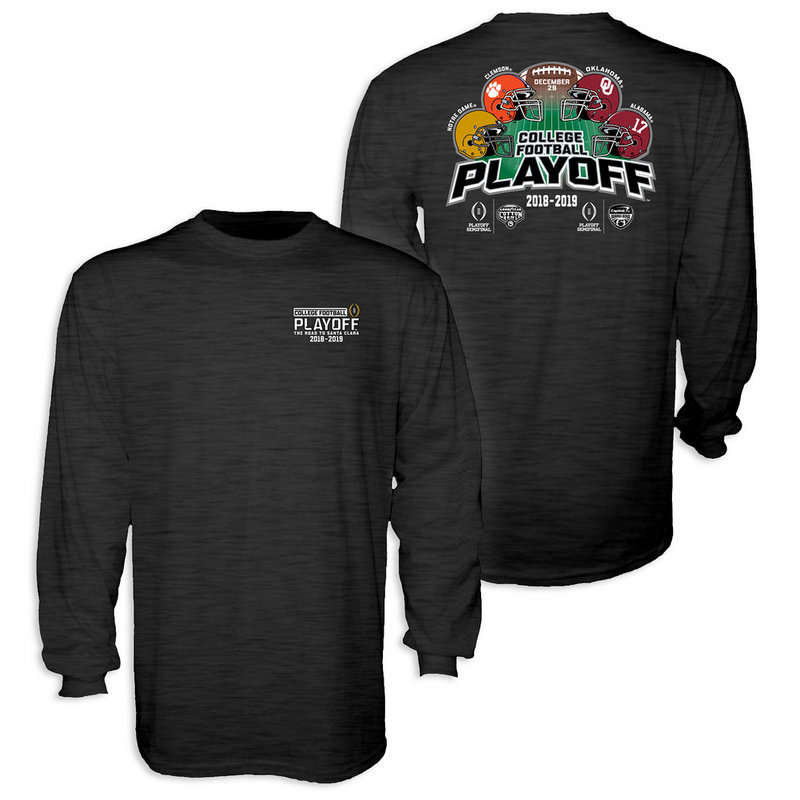 Notre Dame Fighting Irish Cotton Bowl Long Sleeve TShirt Playoffs 2018 - 2019 Back TOP-TEAMS-FB-CFP18-4T