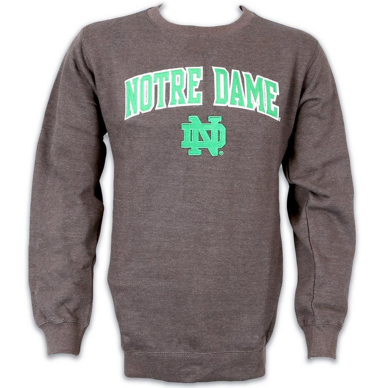 Notre Dame Fighting Irish Crew Sweatshirt Charcoal 70N7H