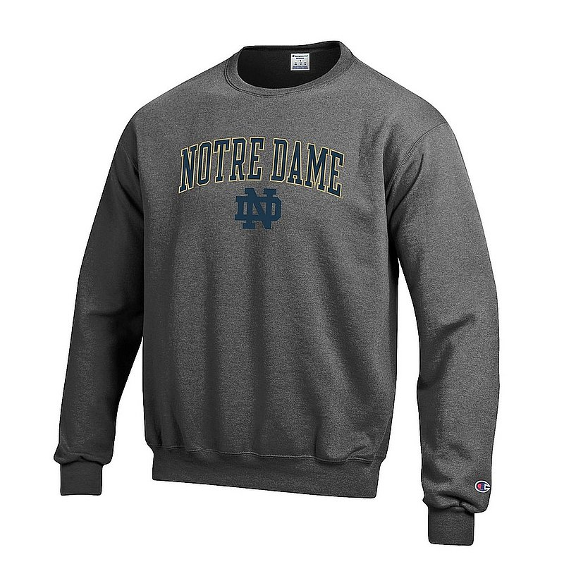 Notre Dame Fighting Irish Crewneck Sweatshirt Charcoal APC02824663