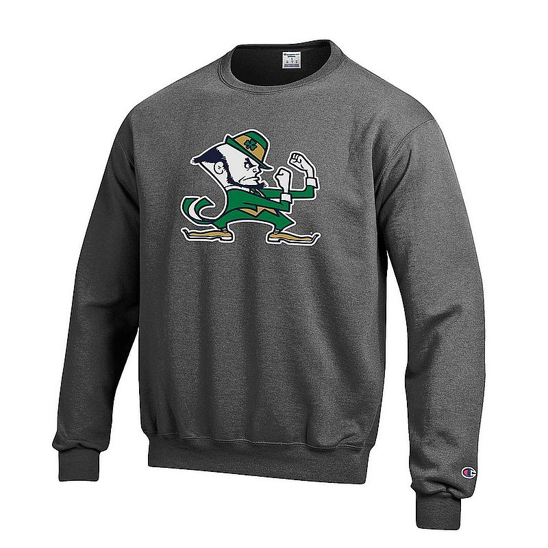 Notre Dame Fighting Irish Crewneck Sweatshirt Charcoal APC03004698