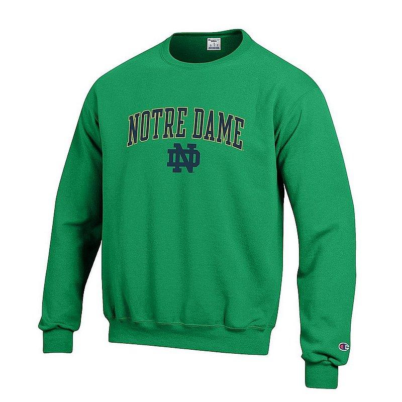 Notre Dame Fighting Irish Crewneck Sweatshirt Kelly APC02824663