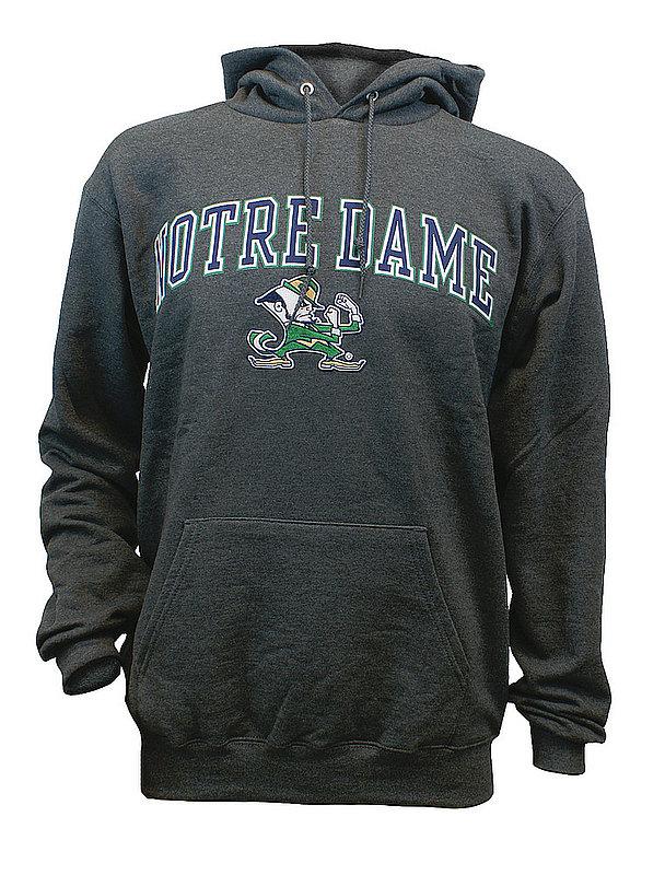 Notre Dame Fighting Irish Hoodie Sweatshirt Captain Gray AEC03197736