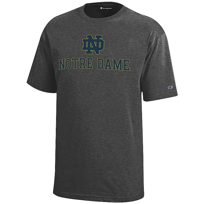 Notre Dame Fighting Irish Kids TShirt Charcoal APC03014087