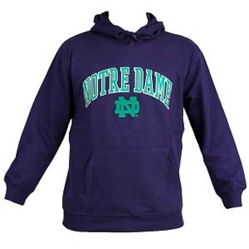 Notre Dame Fighting Irish Navy Fleece Hoodie Sweatshirt K F05IC 97