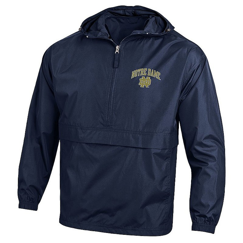Notre Dame Fighting Irish Packable Jacket Navy APC02928078