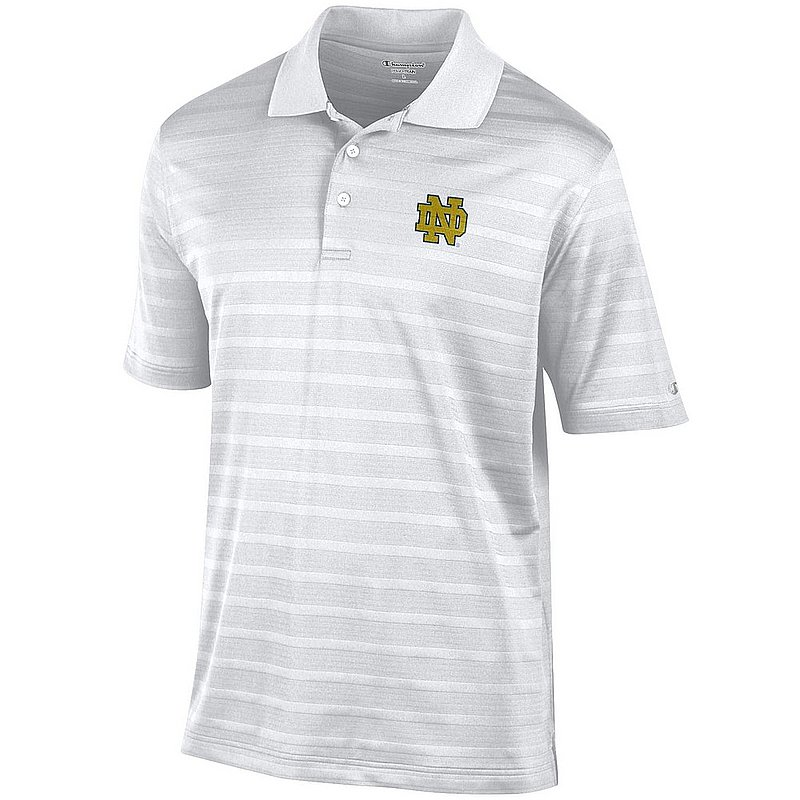 Notre Dame Fighting Irish Polo Shirt White AEC02462407