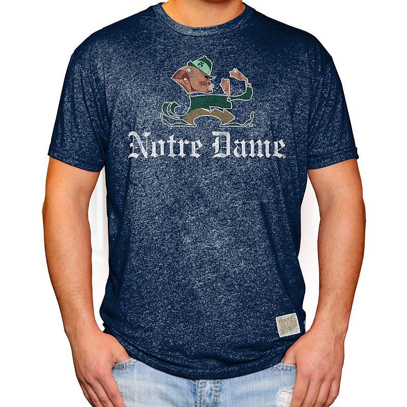 Notre Dame Fighting Irish Retro TShirt Soft Blend RB124