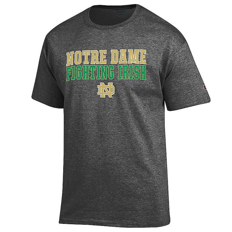 Elite Fan Shop Notre Dame Fighting Irish Cotton Bowl Tshirt 2018 Icon Charcoal